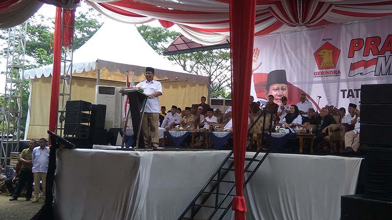 Prabowo ajak masyarakat melawan terorisme