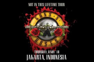 Guns N' Roses kembali menyapa penggemar di Indonesia November