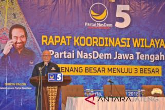 Partai NasDem targetkan setiap dapil Jateng terisi wakilnya
