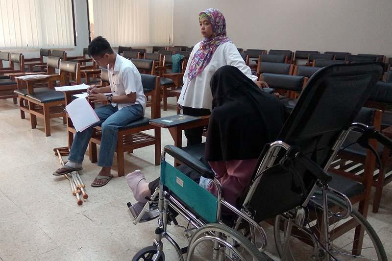 Empat peserta SBMPTN Unsoed mendapat perlakuan khusus