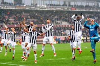 Ditahan imbang Roma, Juventus juarai Liga Italia tujuh kali beruntun