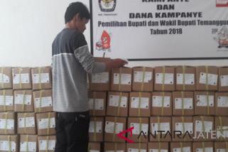KPU Temanggung terima suara pilgub
