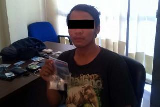 Pengedar sabu-sabu ditangkap petugas BNNK Cilacap