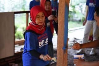 BPJS Ketenagakerjaan renovasi ruang makan SLB Negeri 1 Pemalang
