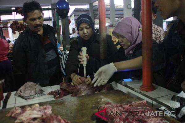 Tim gabungan Kota Magelang temukan daging gelonggongan
