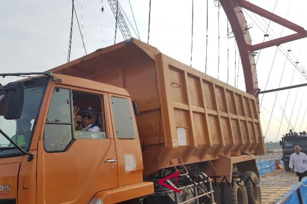Menteri Basuki buka Jembatan kali Kuto