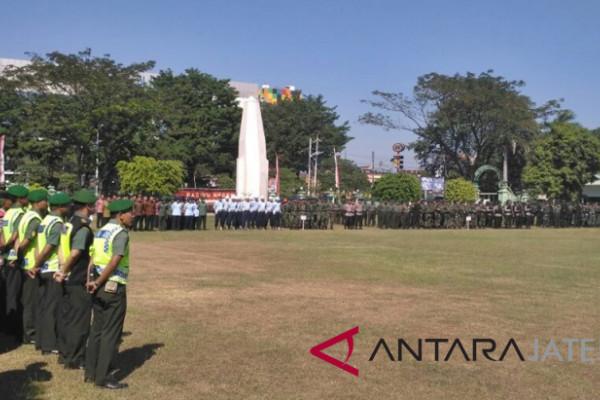 Korem Surakarta gelar pasukan pengamanan tamu VIP