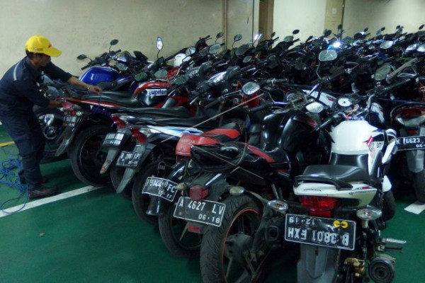 Arus balik pemudik gratis bersepeda motor
