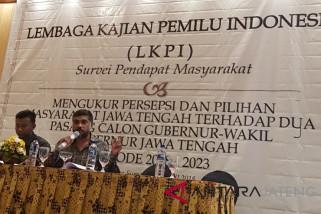 Survei LKPI Unggulkan Sudirman/Ida