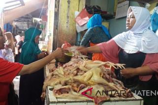 Harga daging ayam terus merangkak tembus Rp45.000/kg
