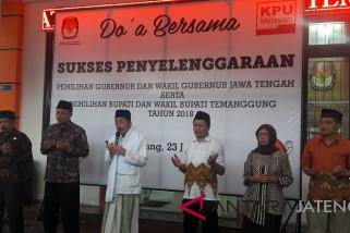 KPU Temanggung gelar doa bersama demi kelacaran pilkada