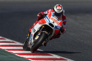 Lorenzo Ducati start terdepan di MotoGP Katalunya