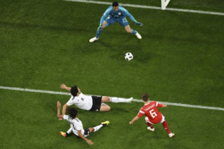 Tekuk Mesir 3-1, Rusia amankan tempat putaran dua