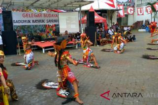 Sukarelawan Ganjar-Yasin Semarang gelar Gelegar Budaya