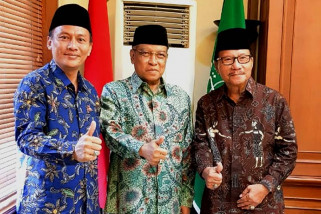 Jelang pilkada, Mardjoko/Ifan meminta restu Ketum PBNU