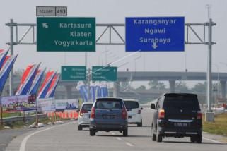 Pelaku UMKM mendaftar isi area istirahat di jalan tol