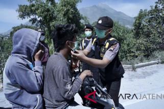 14.000 masker dibagikan buat warga Boyolali terdampak Merapi