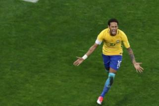 Neymar siap main sebagai starter saat Brasil lawan Austria