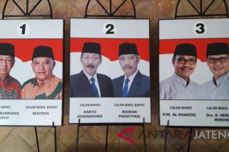 Tiga kandidat Pilkada Temanggung tak kampanye terbuka