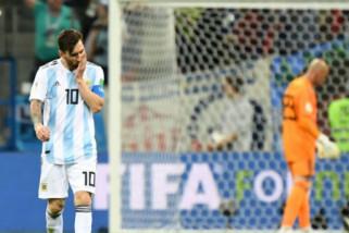 Hasil laga dan klasemen Piala Dunia Grup D, Argentina terbawah