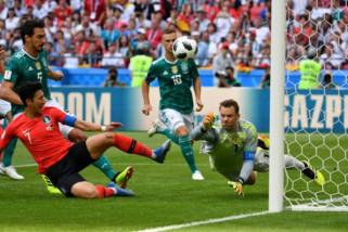 Dipecundangi Korsel 0-2, Jerman tersingkir dari Piala Dunia
