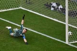 Hasil dan klasemen akhir Grup A, Uruguay jawara