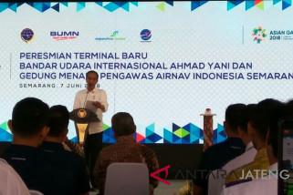 Presiden Jokowi resmikan terminal baru Bandara Semarang (VIDEO)