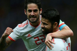 Spanyol tundukkan Iran 1-0