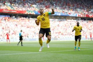 Lumat Tunisia 5-2, Belgia melaju ke 16 besar Piala Dunia 2018