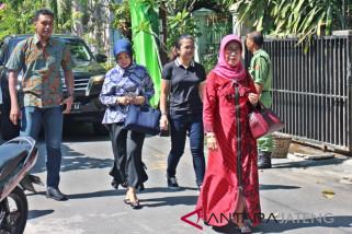 Keluarga Presiden Jokowi mencoblos di TPS Tirtoyoso Solo