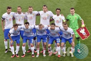 Peringkat FIFA Rusia jatuh menjelang Piala Dunia 2018