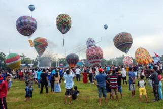 Festival Balon Udara 2018 Pekalongan berdampak positif