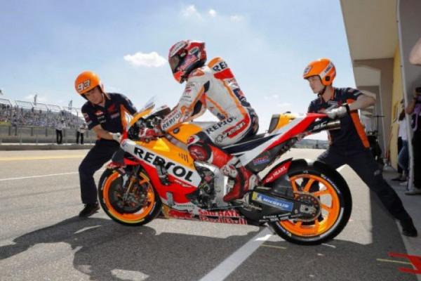 Klasemen MotoGP Jerman: Marquez semakin jauh tinggalkan Rossi