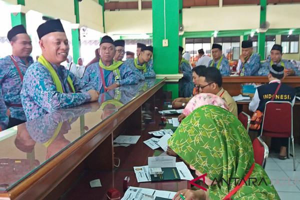 Jumlah jamaah calhaj di Embarkasi Surakarta 2018 meningkat