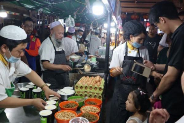 Lanzhou, surga kuliner halal di China