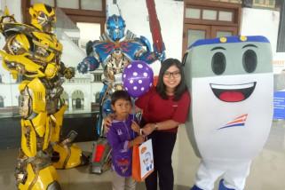 Manjakan penumpang cilik, KAI Semarang hadirkan Transformer
