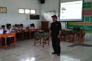 Hadapi letusan, siswa SD di kawasan Merapi latihan tanggap bencana