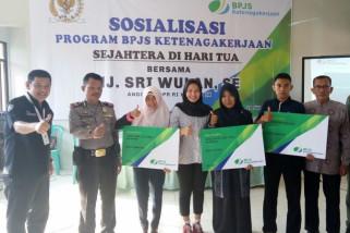 DPR RI ikut sosialisasikan jaminan sosial ketenagakerjaan