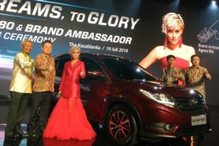 Agnez Mo jadi duta merek SUV Glory