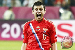 Dzagoev siap perkuat Rusia hadapi Kroasia