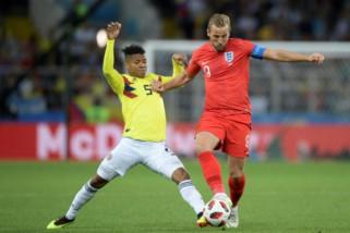 Inggris ungguli Swedia pada babak pertama