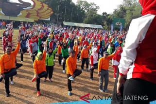 Sambut Asian Games, BPJS Kesehatan gelar senam kolosal
