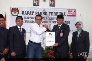 Khadzik-Bowo ditetapkan sebagai Bupati-Wakil Bupati Temanggung