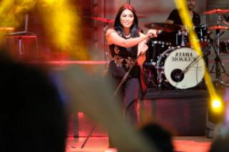 Anggun menjadi tajuk utama di ajang Festival Musik Italia