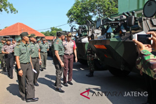 Ribuan personel TNI/Polri Surakarta amankan kunker Presiden