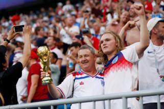 FIFA selidiki kemungkinan ujaran diskriminatif oleh suporter Inggris