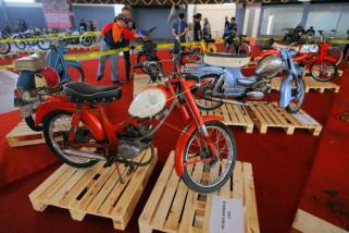Pameran sepeda motor antik