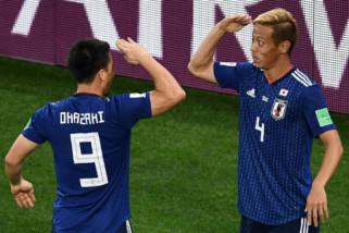 Honda akhiri karier di Timnas Jepang