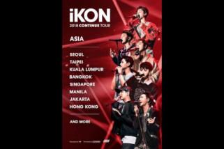 Boy grup iKON akan gelar tur konser di delapan kota Asia