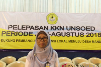 Kementerian PUPR minta mahasiswa KKN Unsoed bangun infrastruktur